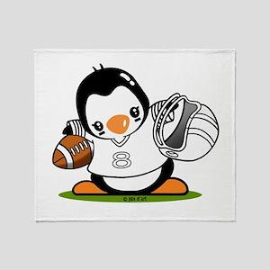 Football Popo (2) Throw Blanket