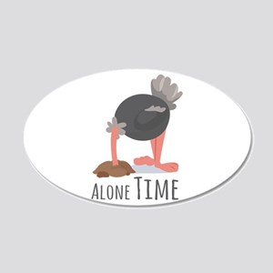 Alone Time Wall Decal