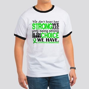 Lymphoma HowStrongWeAre Ringer T