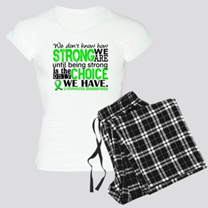 Lymphoma HowStrongWeAre Women's Light Pajamas