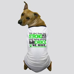 Lymphoma HowStrongWeAre Dog T-Shirt