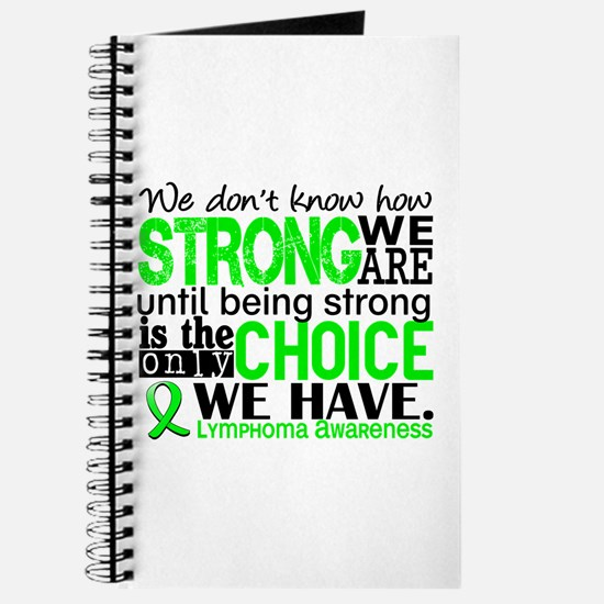 Lymphoma HowStrongWeAre Journal