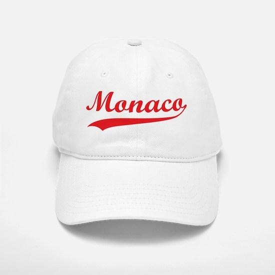 Retro Monaco Baseball Baseball Cap