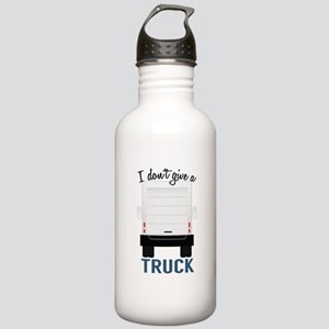I Dont Give A Truck Water Bottle
