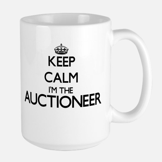 Keep calm I'm the Auctioneer Mugs