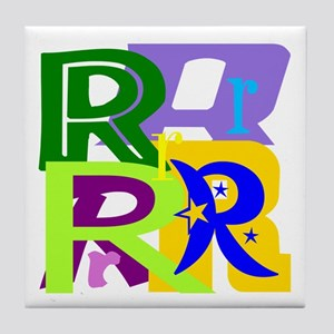 Initial Design (R) Tile Coaster