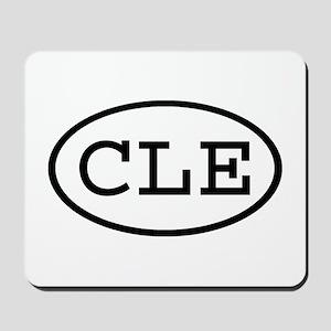 CLE Oval Mousepad