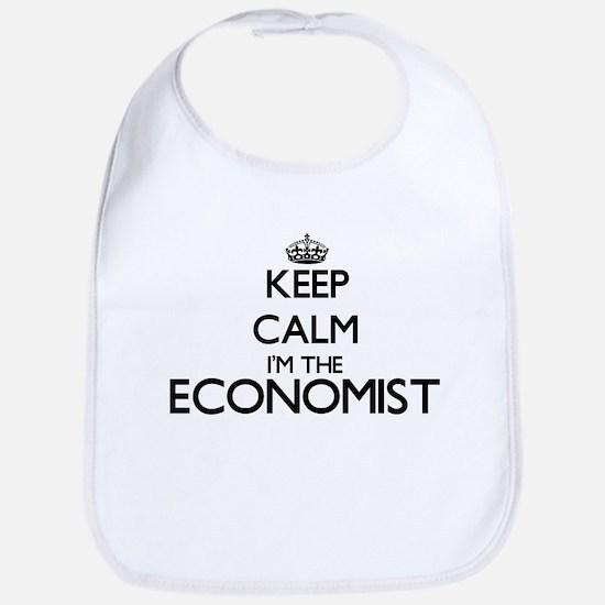 Keep calm I'm the Economist Bib
