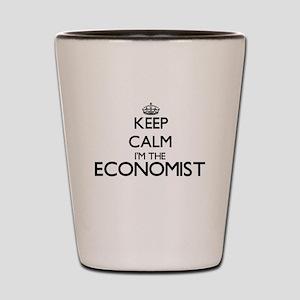 Keep calm I'm the Economist Shot Glass