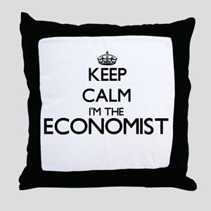 Keep calm I'm the Economist Throw Pillow