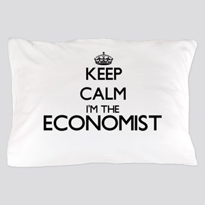 Keep calm I'm the Economist Pillow Case