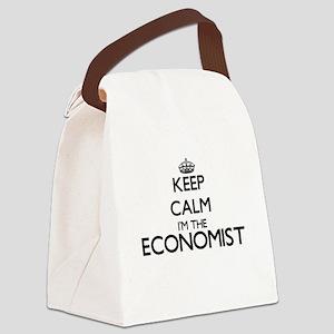 Keep calm I'm the Economist Canvas Lunch Bag