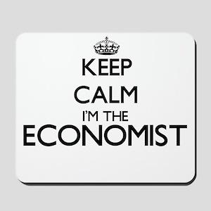 Keep calm I'm the Economist Mousepad