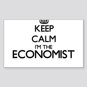 Keep calm I'm the Economist Sticker