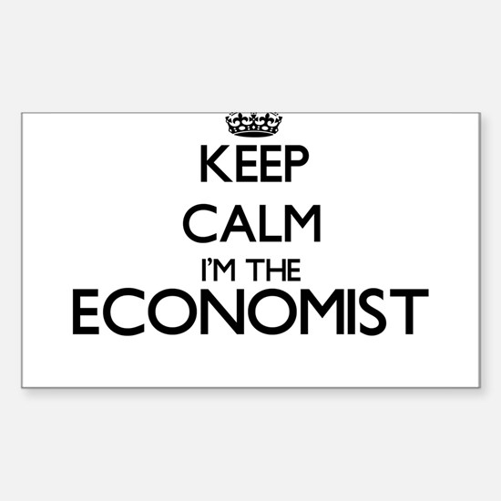 Keep calm I'm the Economist Decal