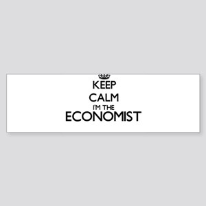 Keep calm I'm the Economist Bumper Sticker