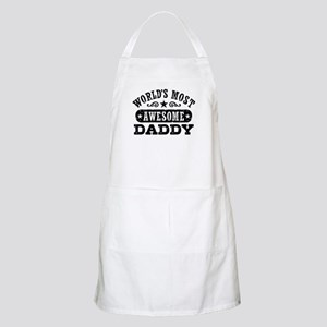 World's Most Awesome Daddy Apron