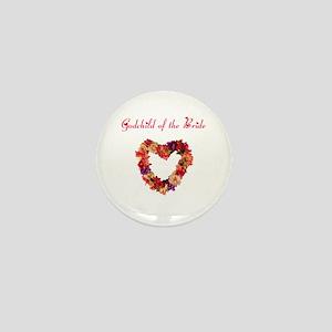 Godchild of the Bride Mini Button
