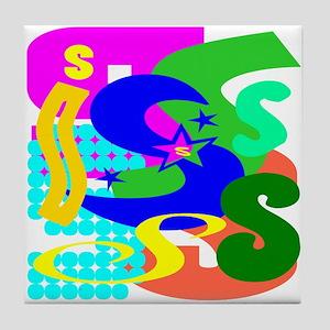 Initial Design (S) Tile Coaster