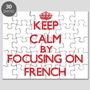 Keep Calm by focusing on French Puzzle