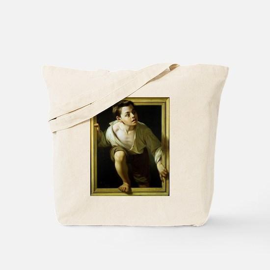 Escaping Criticism Tote Bag