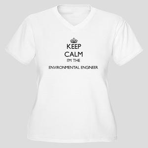 Keep calm I'm the Environmental Plus Size T-Shirt