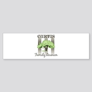 CURTIS family reunion (tree) Bumper Sticker