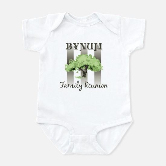 BYNUM family reunion (tree) Infant Bodysuit