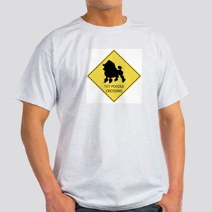 Toy Poodle crossing Light T-Shirt