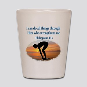 CHRISTIAN SWIMMER Shot Glass