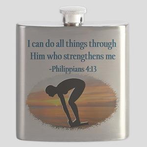 CHRISTIAN SWIMMER Flask