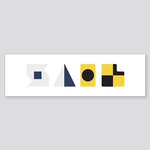 Sail Bumper Sticker