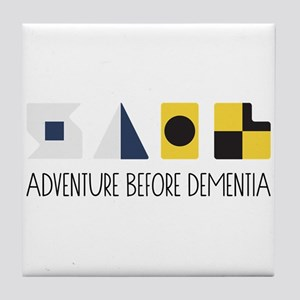 Adventure Tile Coaster