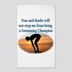 SWIMMER DREAMS 3'x5' Area Rug
