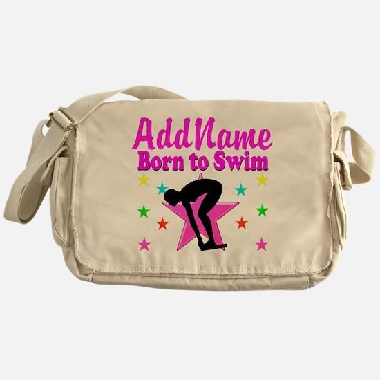 SWIMMER DREAMS Messenger Bag