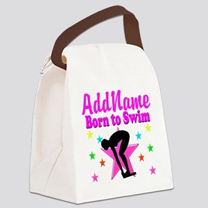 SWIMMER DREAMS Canvas Lunch Bag