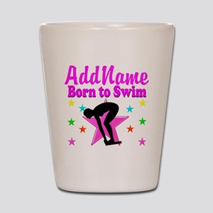 SWIMMER DREAMS Shot Glass