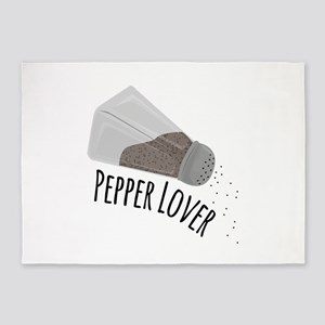 Pepper Lover 5'x7'Area Rug