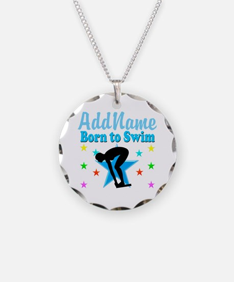 1ST PLACE SWIMMER Necklace
