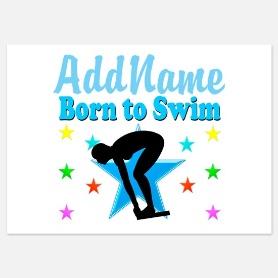 1ST PLACE SWIMMER Invitations