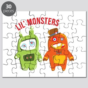Lil Monsters Puzzle