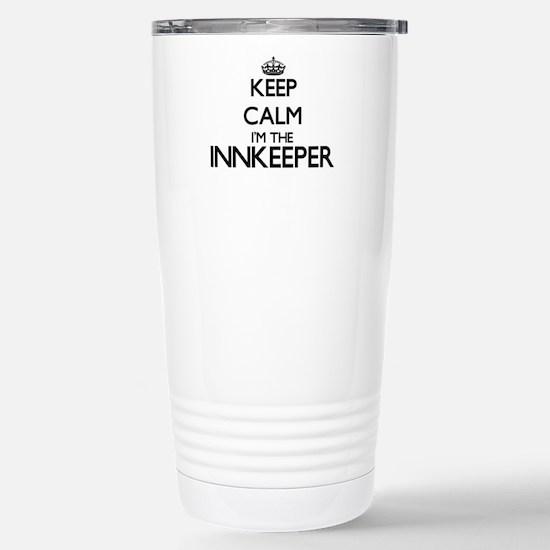 Keep calm I'm the Innke Stainless Steel Travel Mug