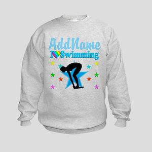 SWIM TEAM Kids Sweatshirt