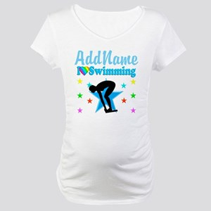 SWIM TEAM Maternity T-Shirt