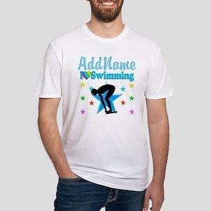 SWIM TEAM Fitted T-Shirt
