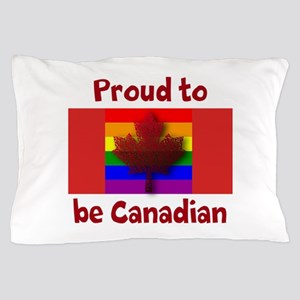 Proud to be Canadian Pillow Case