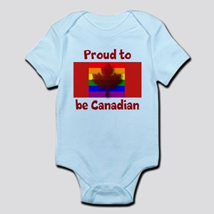 Proud to be Canadian Body Suit