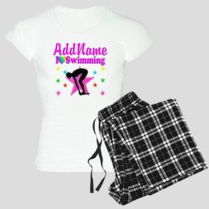 LOVE SWIMMING Women's Light Pajamas