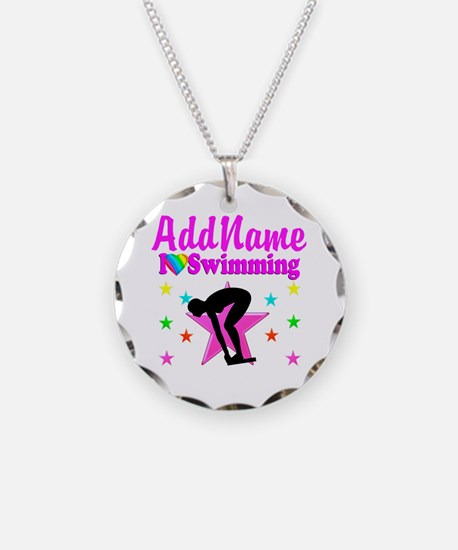 LOVE SWIMMING Necklace