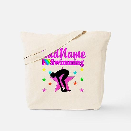 LOVE SWIMMING Tote Bag